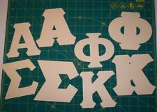 Greek Letter STENCILS Do-It-Yourself alpha phi mu sigma kappa delta zeta chi tau