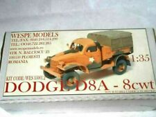 DODGE D8A-8cwt Wespe Models 1:35 military WW2 truck lorry LKW resin kit 35044