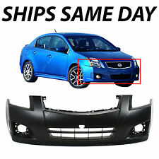 NEW Primered - Front Bumper Fascia for 2007-2012 Nissan Sentra SE-R SR With Fog