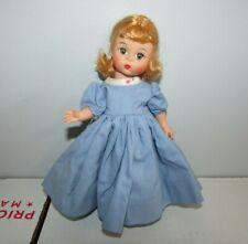 """Vintage Blue Dress Outfit Fits Madame Alexander-kins 8"""" Wendy Dolls"""