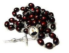 Gemma Umberta Galgani cherry relic rosary for Students pharmacists tuberculosis