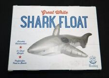 WEMBLEY HERITAGE NWT Gray Great White Shark Terrifying 5.5 ft Length Float