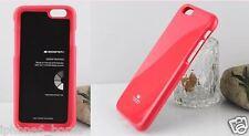 iPhone 6/6s Plus Genuine Mercury Goospery Metallic Hot Pink Jelly Case Cover