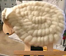 More details for john lewis large (19 cms)  abc woolley sheep ornament (not a toy)