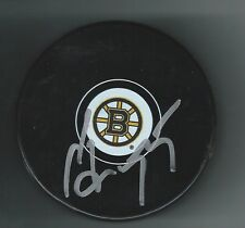 Sergei Gonchar Signed Boston Bruins Puck