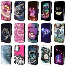 Gato de Cheshire Alicia en el país de las maravillas a presión Funda De Teléfono Para Samsung Galaxy S6 S7 S8 S9