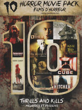 THRILLS AND KILLS (BILINGUAL) (10 HORROR MOVIE PACK) (BOXSET) (DVD)