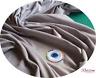 grigio argento cotone tessuto in velluto per creazione vestiti - Metro, ½ M & FQ