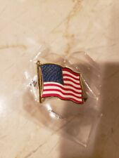 New listing New-United States of America U.S.A. American Flag lapel pin; lot of 46; metal