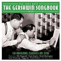 The Very Best Of Gershwin Songbook 2 CD Set Ella Fitzgerald Frank Sinatra + More