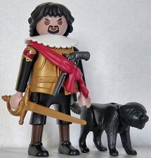 Playmobil espagne - conquistador #10B - aztèques - incas - gouverneur - custom