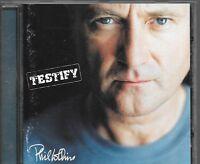 CD ALBUM 12 TITRES--PHIL COLLINS--TESTIFY--2002
