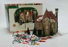 Department 56 Christmas in the City Village The Consulate Limited Ed. #58951 Euc