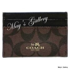 Coach Handbag ID Credit holder case Gusset card pouch  Coin Leather  F63279