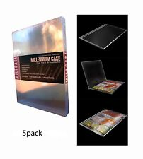 Millcase New Sealed Comic Book Holder Hard Case 5 Pack