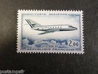 FRANCE 1965, timbre aérien 42, AVIONS, MYSTERE 20, neuf** AIRMAIL MNH