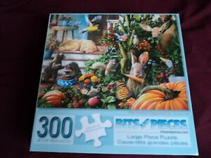 """Bits and Pieces 300 Piece Jigsaw Puzzle Complete Large Pieces """"Perefect Opportun"""