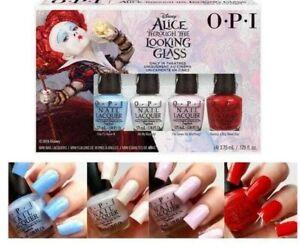 OPI Alice Through The Looking Glass Mini Set Nail polish FREE Shipping