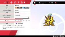 Pokemon BOUMATA shiny 6IV + masterball - Battle Ready - Epée/Bouclier