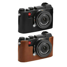 MegaGear Leica CL Ever Ready Genuine Leather Camera Half Case with Strap