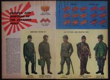 Japanese Army Insignia & Uniform WWII 1945 pictorial