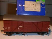 Sachsenmodelle 16111 Covered Goods Wagon Gmhs Opw the Dr Epoch 3 IN Boxed