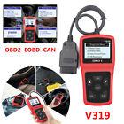 V319 Car OBD2 Reader Scanner Tool EOBD Automotive Diagnostic Fault Code Reader