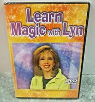 Learn Magic With Lyn DVD Instructional Magic Illusions Tricks & More Sealed NIB