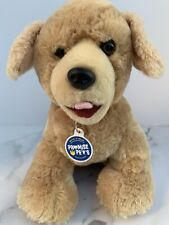 "Build A Bear Promise Pets Tan Workshop Puppy Dog 12"" Stuffed Plush Animal"