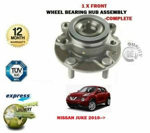 FOR NISSAN JUKE 1.2 1.6 DIGT NISMO 1.5 DCI 2010-> NEW 1X FRONT WHEEL BEARING KIT