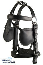 Ideal Equestrian LeatherTech Driving Bridle