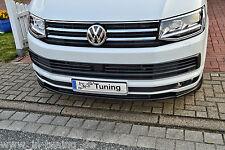 Acción especial alerón espada Front alerón labio cuplippe de ABS para furgoneta VW t6 Abe