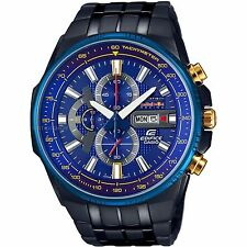 Casio Edifice EFR-549RBB-2A Infiniti Red Bull Racing Limited Edition Black Watch