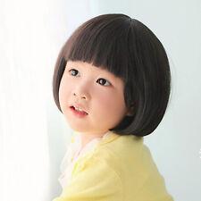 J6AJ Baby Girl Wig hair Toddler Child Costume Straight Adjustment M14-144 30cm