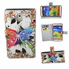 Butterfly Flip Stand Leather Card Cover Case For Samsung Galaxy Note 3 III N9000