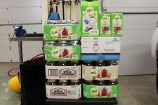 Ball Regular Mouth Clear Glass Mason Jars 16oz Pint Canning Preserve Lids 12 Set