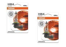 2x OSRAM hb4 12v 51w original spare part premium calidad 9006