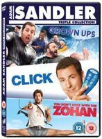 Click / Grown Ups / Voi Don'T Mess Con The Zohan DVD Nuovo DVD (CDRP5600)