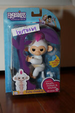 WowWee FINGERLINGS *new* SOPHIE WHITE Interactive Baby MONKEY 2017 with RECEIPT!