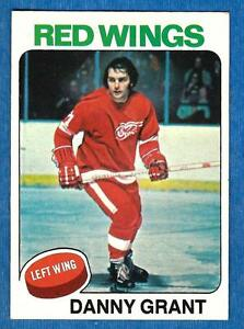 1975-76 Topps DANNY GRANT (ex-) Detroit Red Wings