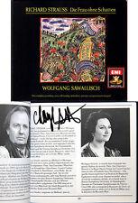 Cheryl Studer firmato Strauss: la donna senza ombra René Kollo Sawallisch 3cd