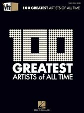 VH1 100 Greatest Artists of All Time Sheet Music Piano Vocal Guitar 000312025