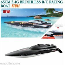 Feilun FT011 2.4G Water Cooled Brushless Motor RC Racing Boat with Remote Safety