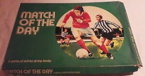 Vintage Match of the Week Football Board Game