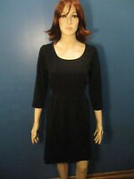 plus size 2X black stretchy knit empire waist dress by FOREVER 21