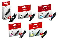 Genuine Canon PGI-550XL CLI-551XL Ink Cartridge Pixma iP8750 iP8750 MG5550 MX925