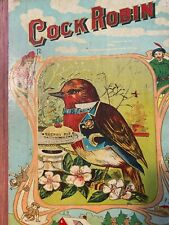 New listing Antique Vintage Cock Robin Childrens Book~ A.M. Donohue