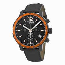 Tissot Quickster Chronograph Black Dial Men's Watch T095.417.36.057.01