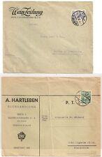 2 COVERS WIEN AUSTRIA AUTRICHE TO FRANCE. 1928 1938. L987