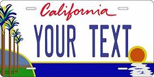 California Palm License Plates Tag Personalized Auto Car Custom VEHICLE OR MOPED